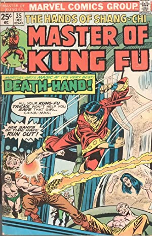 MASTER OF KUNG FU! 35 - DEATH-HAND AND THE SUN OF MORDILLO.