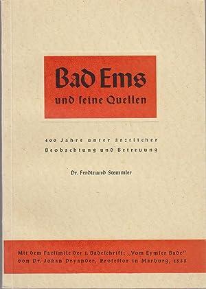 Bad Ems und seine Quellen : 400: Stemmler, Ferdinand (Verfasser)