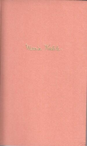 Herz der Frau : Gedichte.: Kahle, Maria: