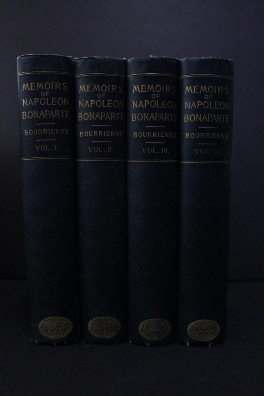 bourrienne memoirs of napoleon