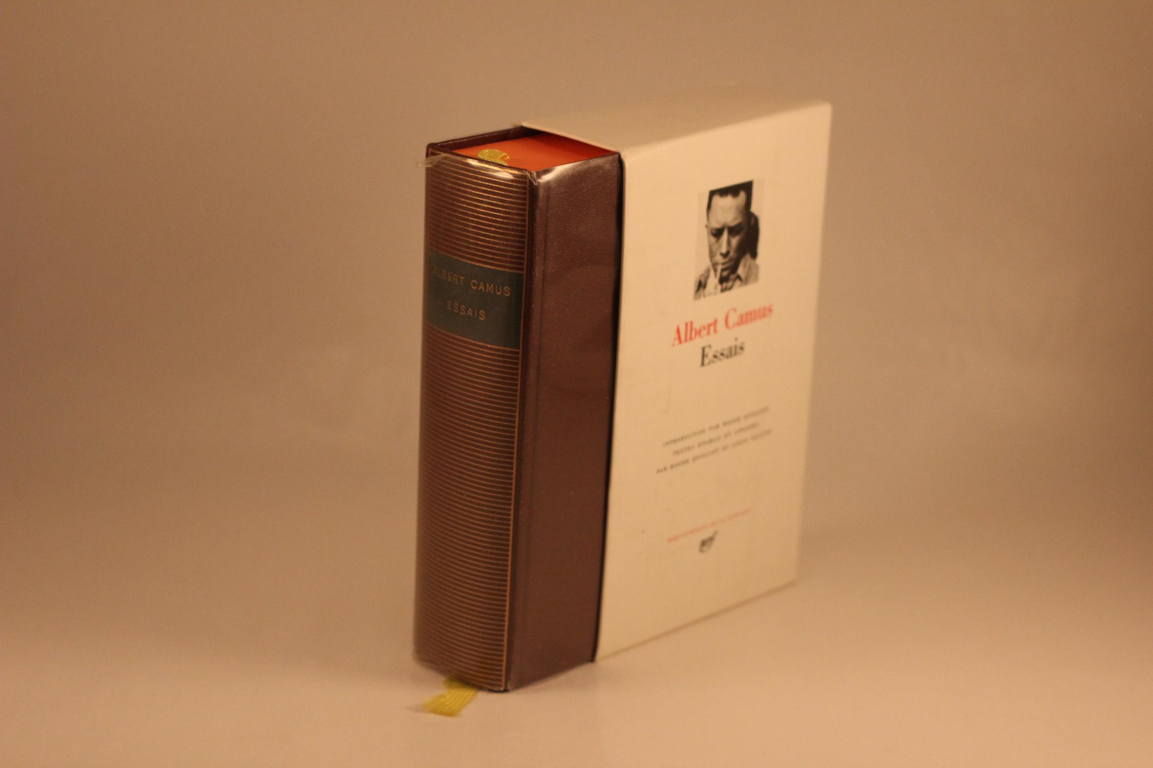 Albert Camus Essais Albert Camus [ed. Roger Quilliot & Louis Faucon]
