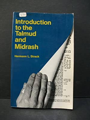 Introduction to the Talmud and Midrash: Hermann L. Strack