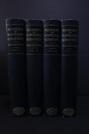 Memoirs of Napoleon Bonaparte - in four: Louis Antoine Fauvelet
