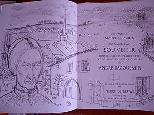 2 Novembre: BARRES Maurice JACQUEMIN André