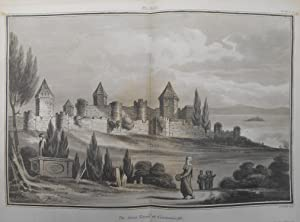 An Account of the Walls of Constantinople. A rare original article from the journal Archaeologia, ...