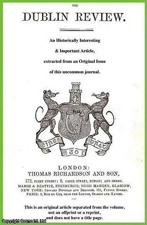 Irish minstrelsy: Francis Thompson