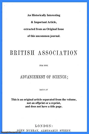 The Botanical and Chemical Characters of the: H.E. Armstrong, H.G.