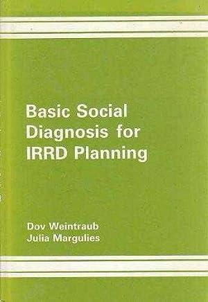 Basic Social Diagnosis for Integrated Rural Regional: Weintraub, Dov