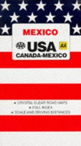 Mexico-Central America (AAA Road Map): Association, American Automobile