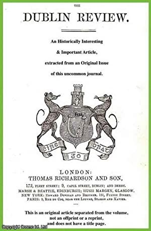 The Irish in America. With details of