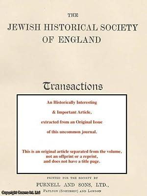 War and Jewish History.: Hyamson, Albert M.