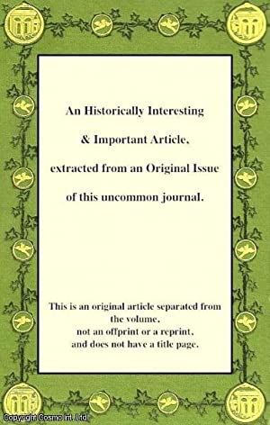 An Account of the Excavation of a: Curle, Alex O.