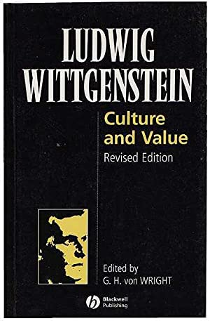 Culture And Value: Wittgenstein [Edited by