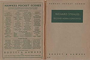 Second Horn Concerto : Deuxieme Concerto Pour: Strauss, Richard