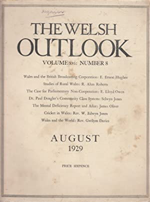 The Welsh Outlook. A Monthly Journal of: Thomas Jones (Editor)