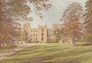 Mulgrave Castle, near Whitby, Yorkshire. The House: Morris, Francis Orpen