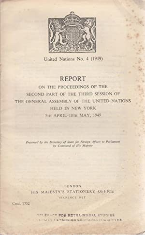 Report on The Proceedings of The Second