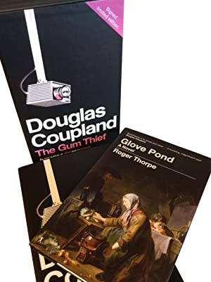 The Gum Thief and Glove Pond. In a slipcase. LIMITED EDITION HARDBACKS.: Coupland, Douglas