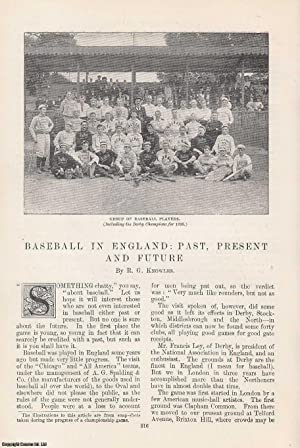 Baseball in England: Past, Present and Future.: Knowles, R. G.