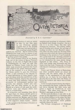The Court Life of Queen Victoria. Illustrated by T. S. C. Crowther. An original article from the ...