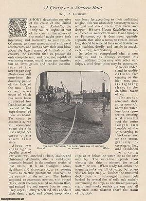 A Cruise on a Modern Ram. The Katahdin. A rare original article from The Strand Magazine, 1898.: ...
