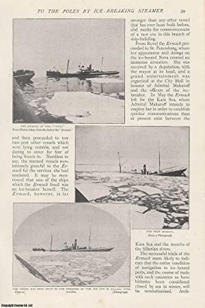 To The Poles by Ice-Breaking Steamer, The Ermack.An Interview with Vice Admiral Makaroff. A rare ...