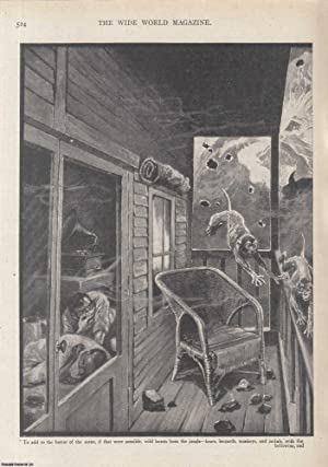 A Fiery Ordeal. The eruption of Mount: Chown, Ernest