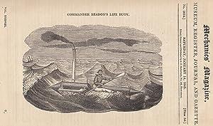Commander Beadon's Life Buoy; Dredge's Suspension-Bridge System;