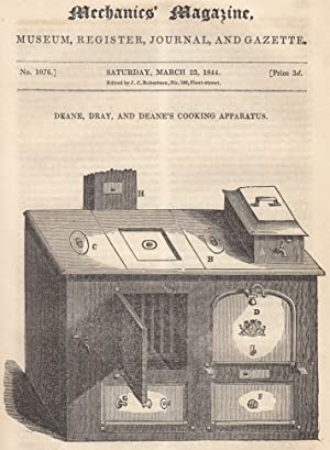 Deane, Dray, And Deane's Cooking Apparatus; Prevention Of Deposits In Steam Boilers; The ...