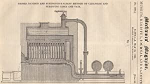 Messrs. Davison And Symington's Patent Method Of Cleansing And Purifying Casks And Vats; Damask...