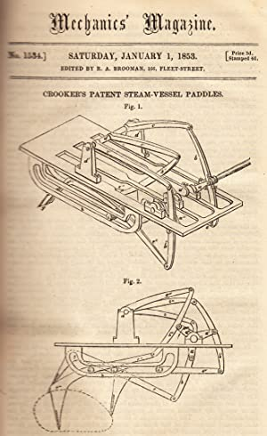 Crooker's Patent Steam-Vessel Paddles; The Calculations Used