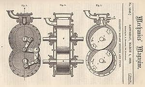 Elliott's Rotary Engine And Pump; London Fires