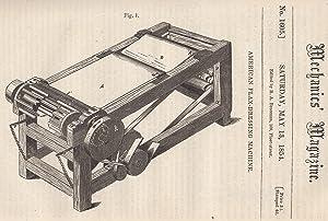 American Flax-Dressing Machine; Notae Mathematicae; Ruthven's Propeller;