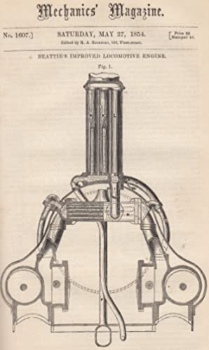Beattie's Improved Locomotive Engine; The Crystal Palace