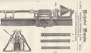 Webster's Elastic Metallic Tubes; Tonnage Registration And