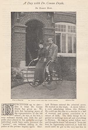 A Daywith Dr. Conan Doyle. An original article from The Strand Magazine, 1892.: How, Harry