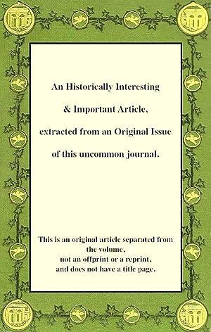 A Note on Senile Pneumonia.: Glover, James Grey