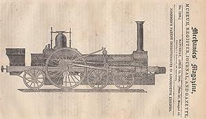 Johnson's Patent Improvements In Locomotive Engines; The