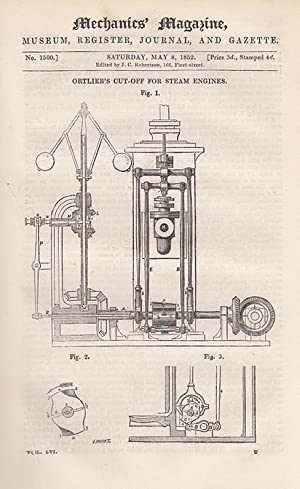 Ortlieb's Cut-Off For Steam Engines; Locks & Safes. - The Recent Lock Controversy; ...