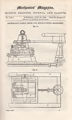Archibald's Patent Brick-Moulding Machinery; Nautical Models; Reflections On Locomotives; Bagg&...