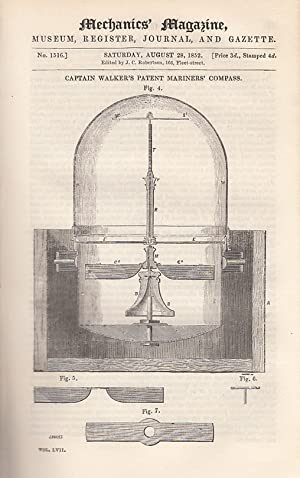 Captain Walker's Patent Mariners' Compass; Lord Roberts