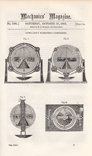 Gowland's Mariner's Compass; Waithman's Machinery For Manufacturing