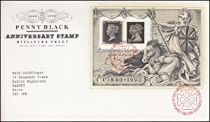 Penny Black. Royal Mail Special Commemorative Issue
