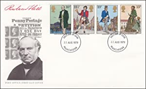 Rowland Hill Centenary and Uniform Penny Postage.
