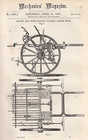 Priest & Woolnough's Patent Horse Hoes; On