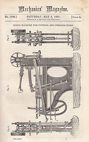 Ross's Machine For Cutting And Forging Files;