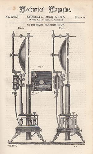 An Improved Electric Lamp; American Sectional Floating Docks; surface Condensation; Iron And Steel;...