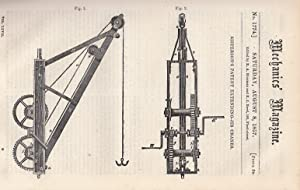 Sisteron's Patent Extending-Jib Cranes; The Designs For
