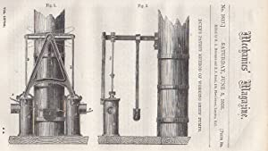 Duke's Patent Method Of Working Ship's Pumps;