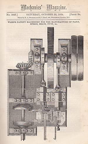 Ward's Patent Machinery For The Manufacture Of